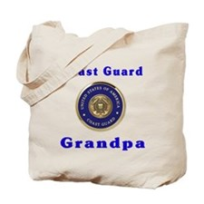 coast guard grandpa Tote Bag