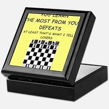 chess Keepsake Box
