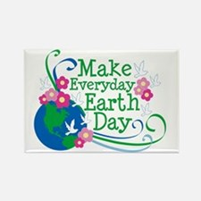Make Everyday Earth Day Rectangle Magnet