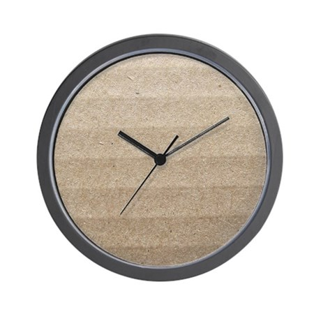 Cardboard Wall Clock by listing-store-34848080