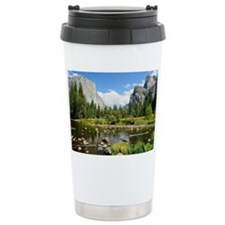 Valley View in Yosemite Travel Mug