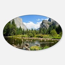 Valley View in Yosemite National Pa Decal