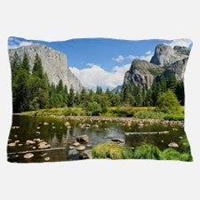 Valley View in Yosemite National Park Pillow Case