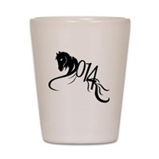 Year of the Horse 2014  Shot Glass