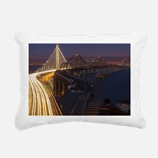 San Francisco–Oakland Ba Rectangular Canvas Pillow