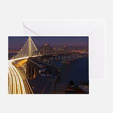 San Francisco–Oakland Bay Bridge Greeting Card