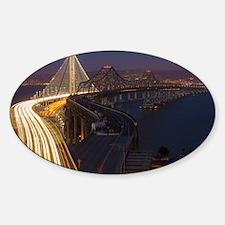 San Francisco–Oakland Bay Bridge Sticker (Oval)