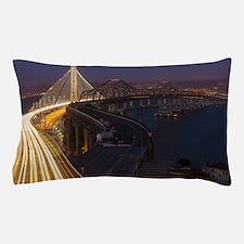 San Francisco–Oakland Bay Bridge Pillow Case