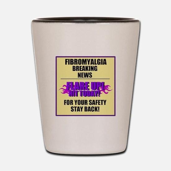 FIBROMYALGIA FLARE UP! Shot Glass