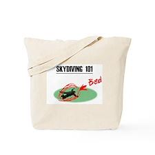Skydiving 101 Tote Bag