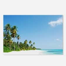 Maldives beach Postcards (Package of 8)