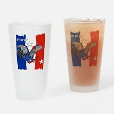 France Quest for Brazil World Cup 2 Drinking Glass