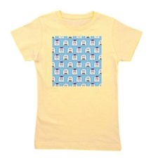 shower ghost couple blue Girl's Tee