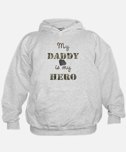 My Daddy Is My Hero Hoody