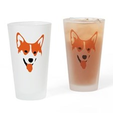 Corgi Drinking Glass
