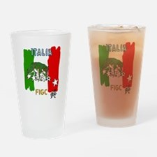 Italy Quest for Brazil World Cup of Drinking Glass