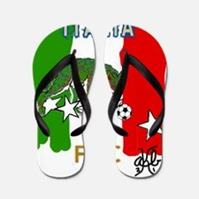 Italy Quest for Brazil World Cup of 201 Flip Flops