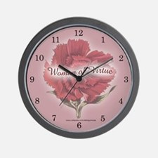 WOMAN OF VIRTUE Wall Clock