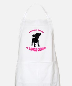 Owned By A Chihuahua BBQ Apron