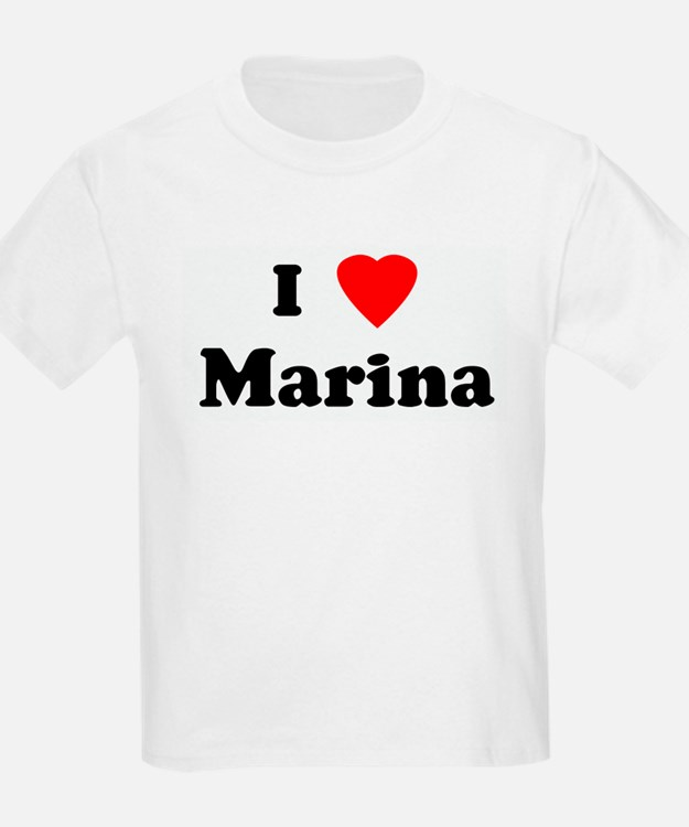 I Love Marina T-Shirt