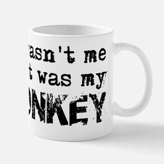 It Wasnt Me Monkey Mug