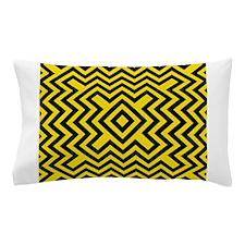 Chevron Bee Pillow Case