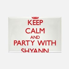 Keep Calm and Party with Shyann Magnets
