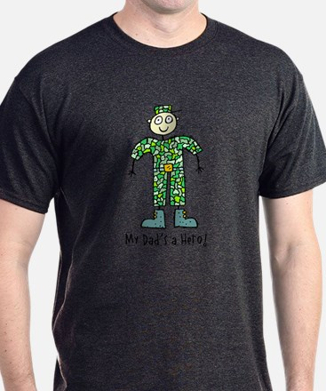 My Dad's a Hero Army T-Shirt