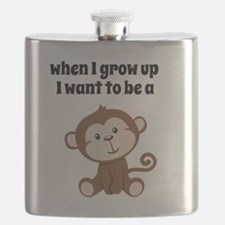 Grow Up to Be a Monkey Flask