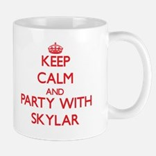 Keep Calm and Party with Skylar Mugs