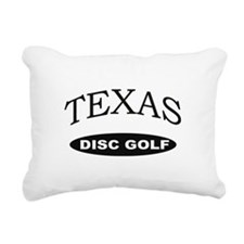 Texas Disc Golf Rectangular Canvas Pillow
