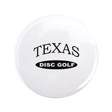 "Texas Disc Golf 3.5"" Button"