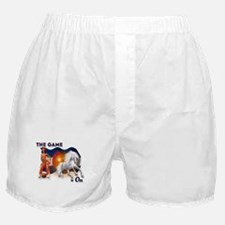 The Football Game is On Boxer Shorts