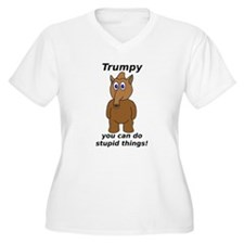 Trumpy 1 Plus Size T-Shirt
