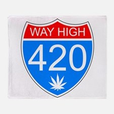 WayHigh420 Throw Blanket