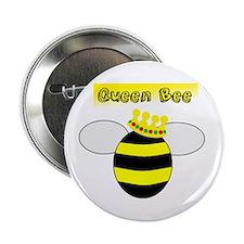"Queen Bee 2.25"" Button (10 pack)"