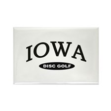 Iowa Disc Golf Rectangle Magnet