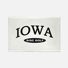 Iowa Disc Golf Rectangle Magnet