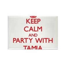Keep Calm and Party with Tamia Magnets