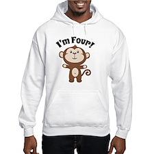 Monkey Im 4 Hoodie