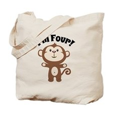 Monkey Im 4 Tote Bag