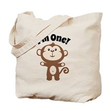 Monkey Im 1 Tote Bag