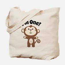 Monkey Im 1 Tote Bag