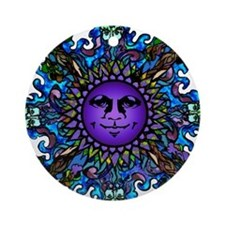 Sister Moon Ornament (Round)