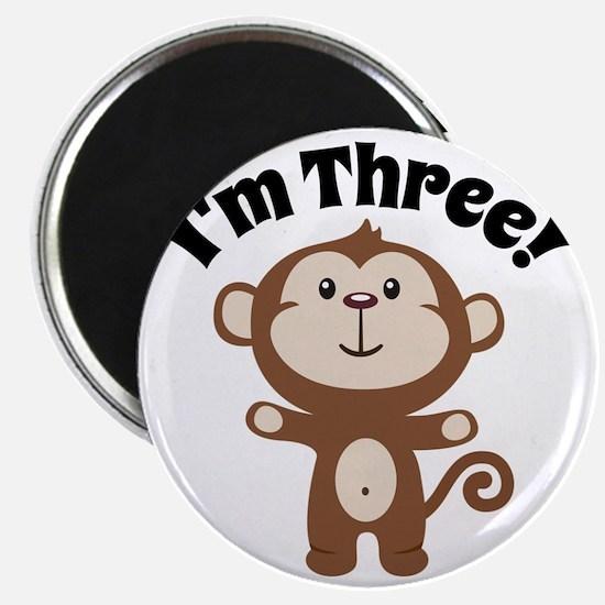 Monkey Im 3 Magnet