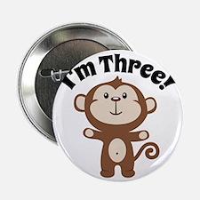 """Monkey Im 3 2.25"""" Button"""