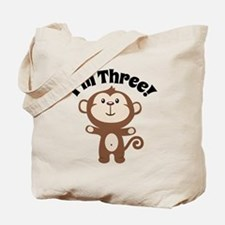 Monkey Im 3 Tote Bag