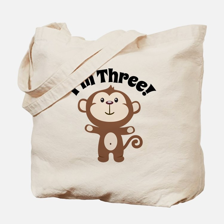 Monkey Im 3 Tote Bag