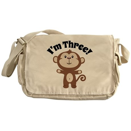 Monkey Im 3 Messenger Bag