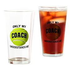 TENNIS COACH Drinking Glass